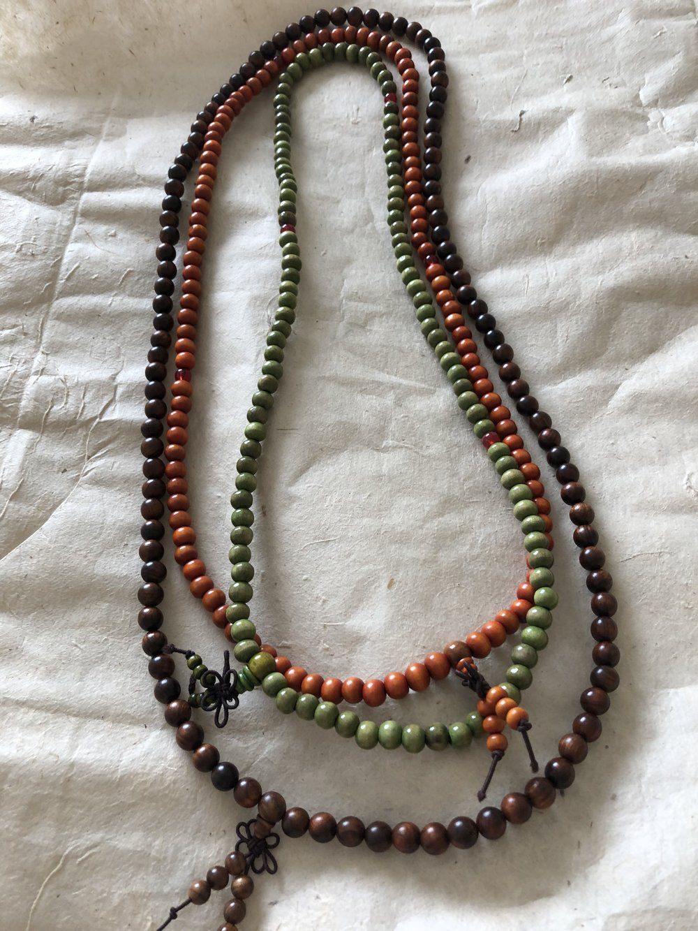 Wood Mala Prayer Beads
