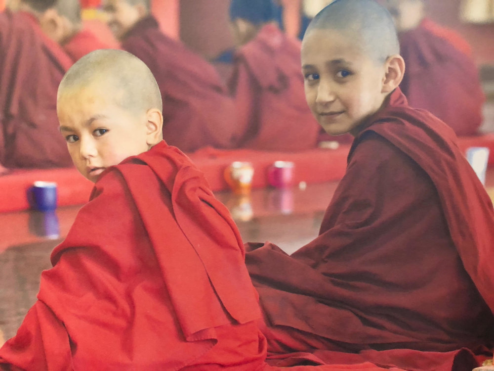 183_Legault-photo of young monk friends in prayer hall.jpg