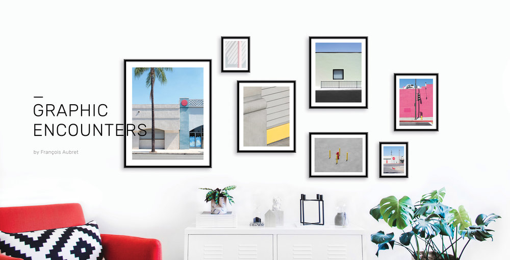 Curate your own gallery wall with François Aubret's prints