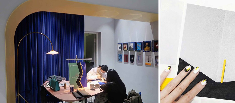 François Aubret | Nail Art pop-up at Brownie Gallery Shanghai