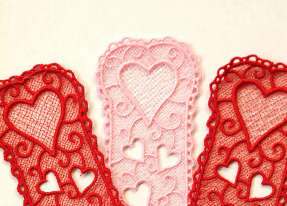 For the kiddos:  Valentine's Day Bookmarks