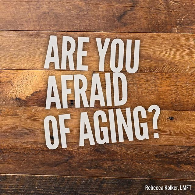 Are you afraid of aging? #questionoftheday 👩🏻💭 In the US there's a huge trend of looking younger and hiding imperfection. Do you find yourself getting sucked into this and fearing getting older? When your birthday comes around do you resent another year passing by? #checkinwithyourself #aginggracefully #age #birthdays