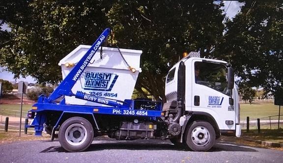 Busy Bins Brisbane Skip Bin Waste Removal Truck