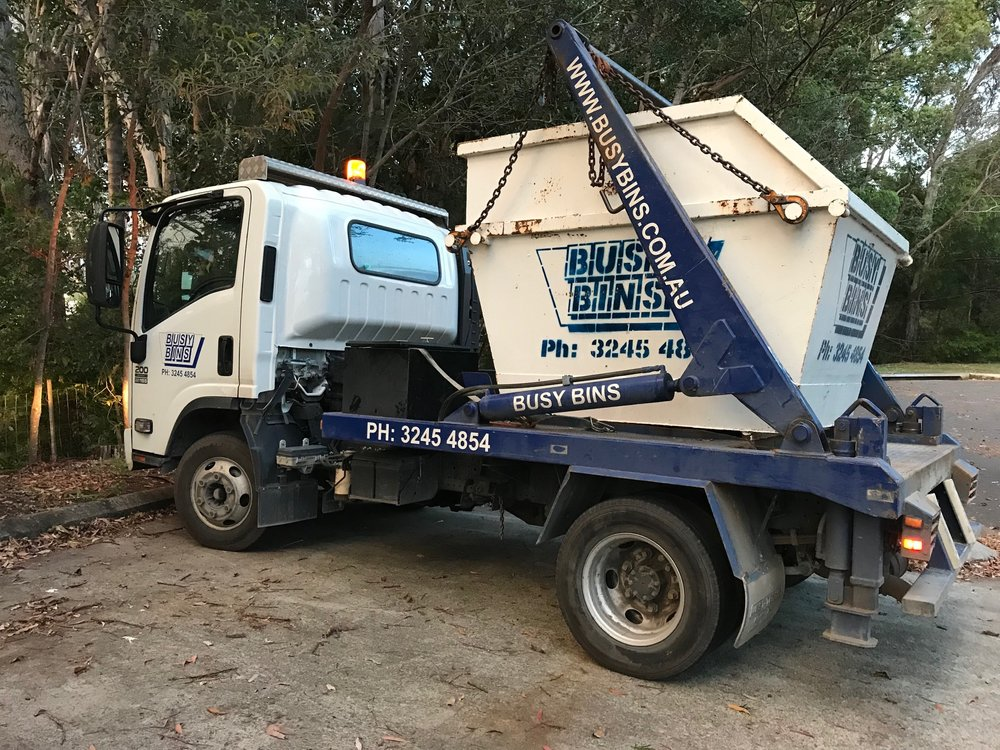 Busy Bins Brisbane Building Construction Site Renovation Skip Bin Waste Removal