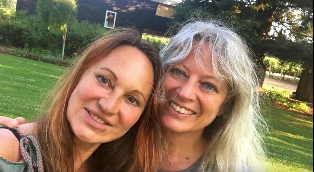 Annette Müller, founder of amazingrace, & Pam Nelson