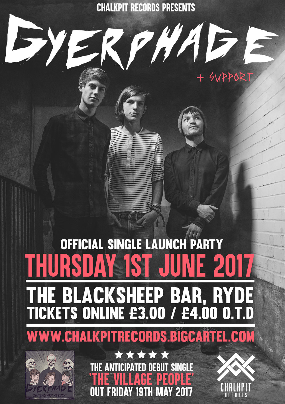 Gyerphage Single launch poster.jpg
