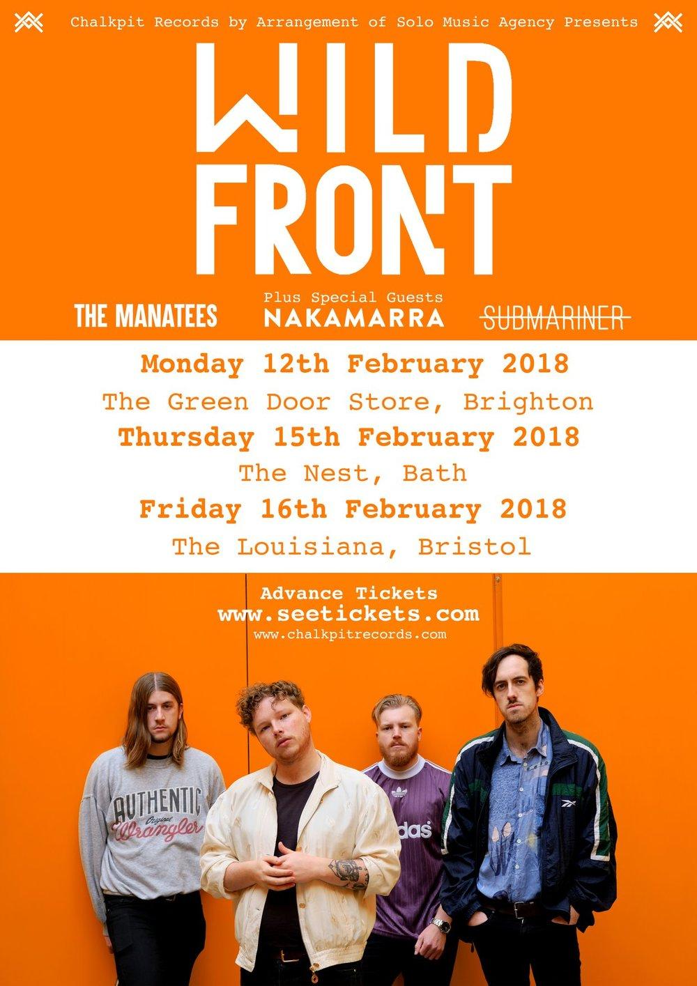 Wild Front - Chalkpit Tour - 2018