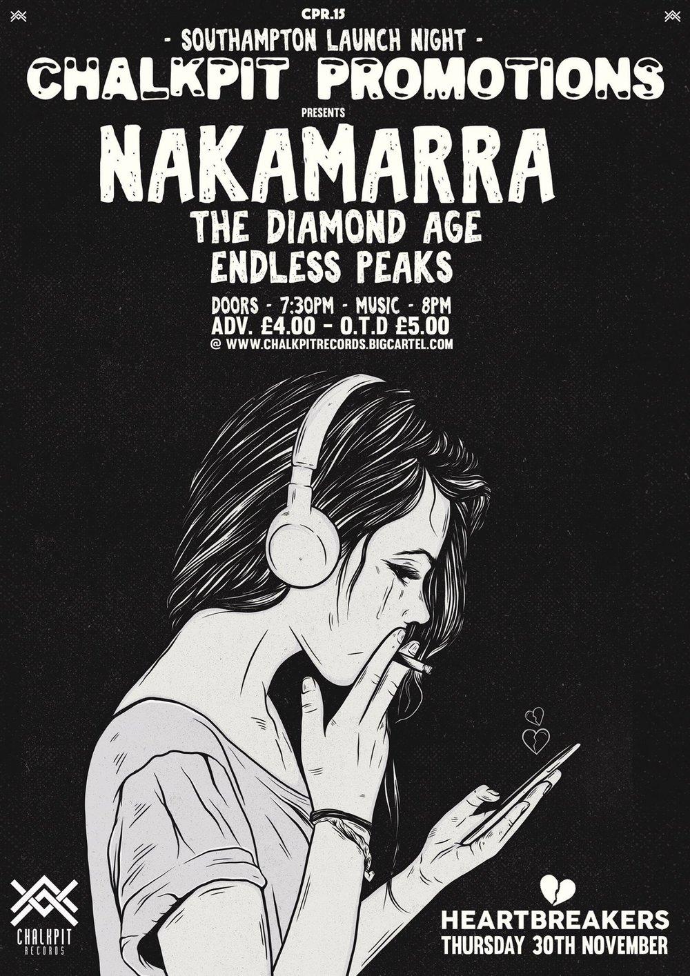 Nakamarra live at Heartbreakers