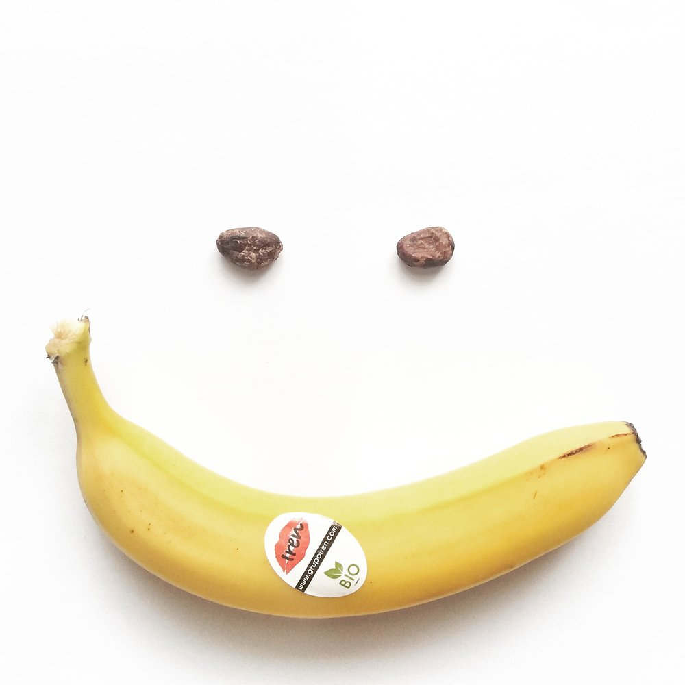 Pörkölt kakaóbab és banán - Mennek az éjszakára beáztatott zabpelyhes kásába