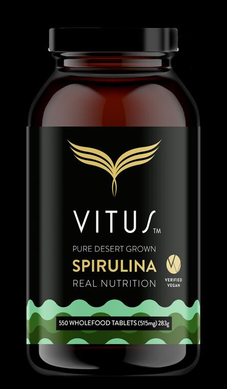 VITUS PURE DESERT GROWN SPIRULINA