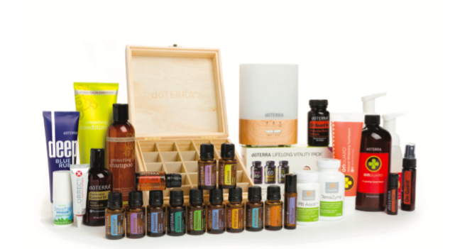 + 100 Points (dōTERRA dollars) to spend on further orders through the Loyality Rewards Program, all wrapped up with a lovely wooden box.
