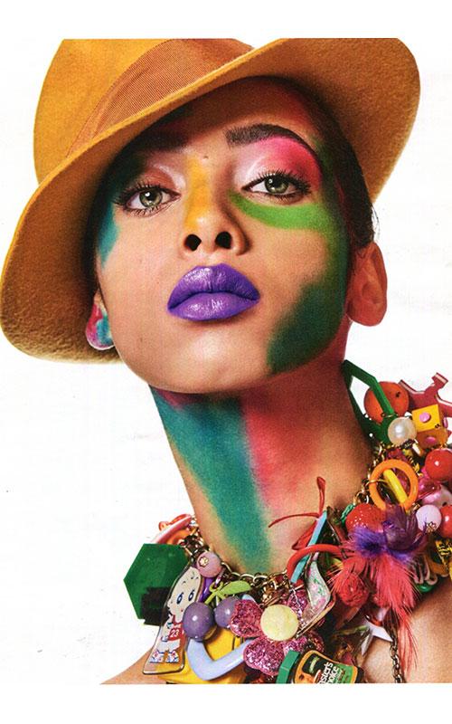 La Cerise<br>sur le Chapeau<br>Vogue Allemagne