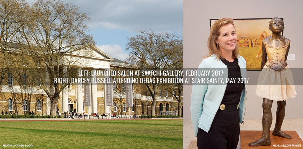 Saatchi Gallery and Darcey Bussell attending Stair Sainty Exhibition on Degas Exhibition