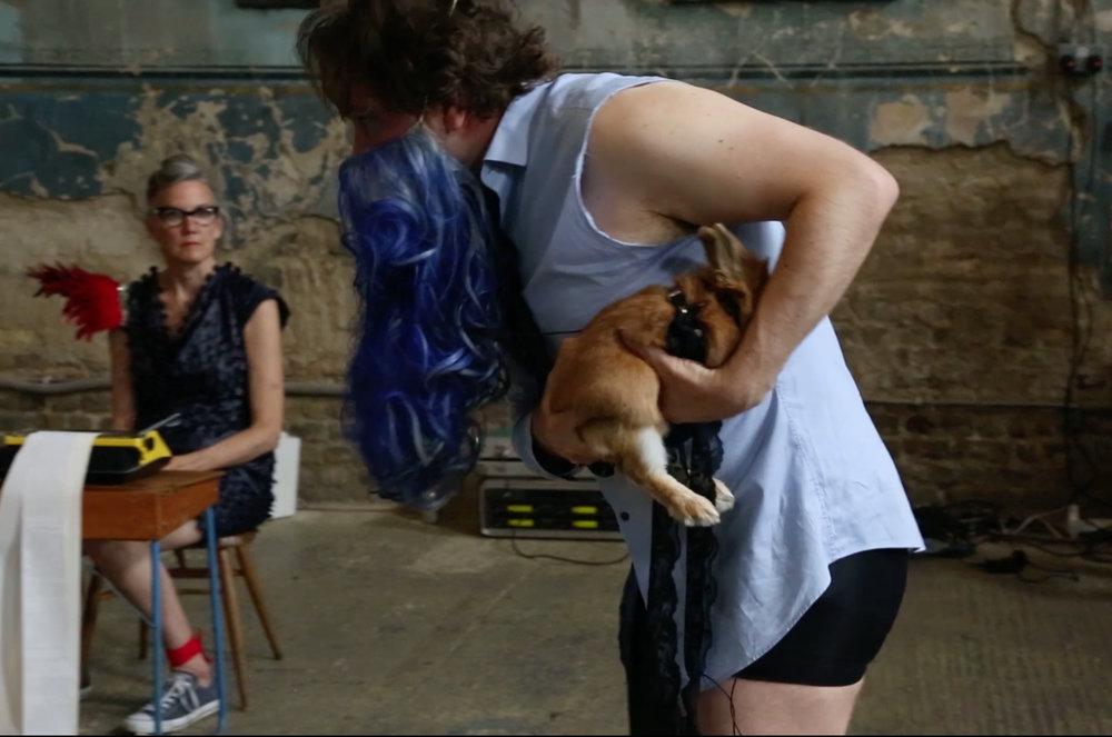 4. BlueBeardPrelude performance, Asylum Gallery, London, 2018. Photo Sotiris Gonis. Courtesy Cradeaux Alexander.jpg