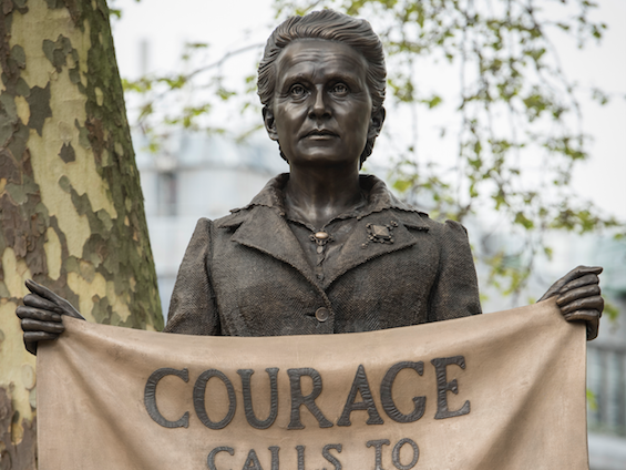 Millicent Fawcett Statue Unveiling, 24 April 2018. Courtesy_ Greater London Authority. Photo by Caroline Teo