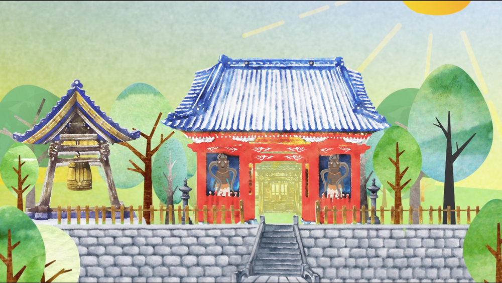 説話アニメーション『小松寺の七不思議』