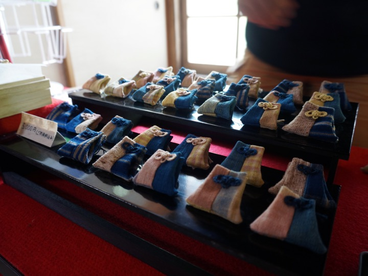 手紡ぎ和綿のお守り