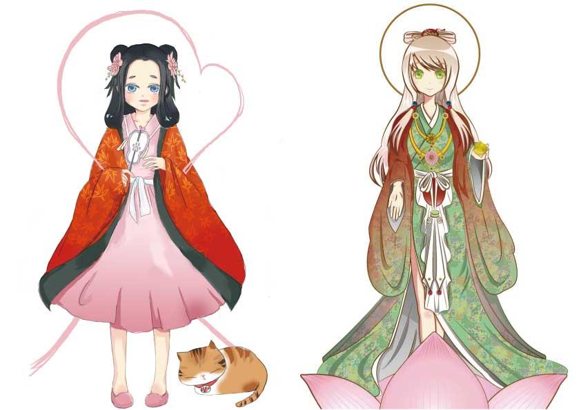 小松寺姫キャラ