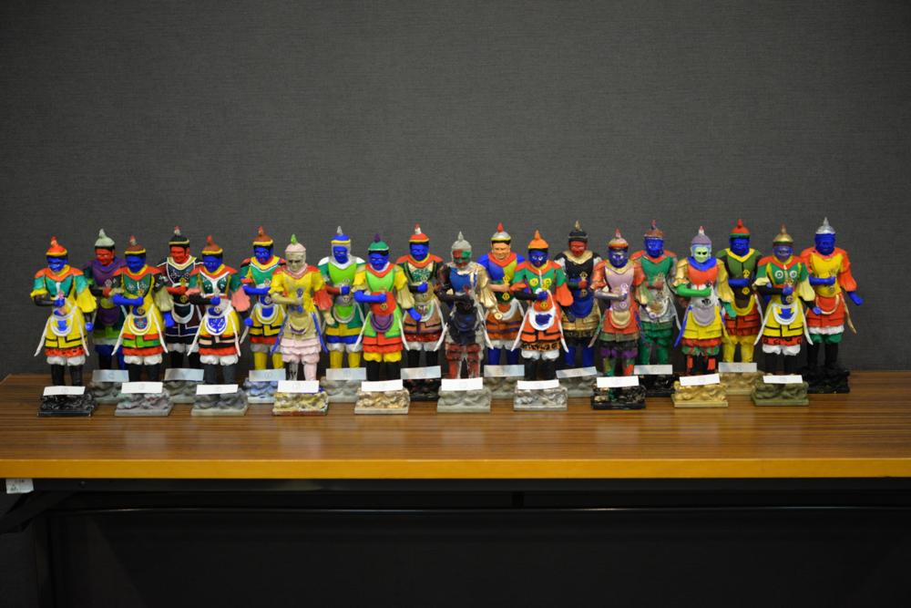 十二神将「酉」極彩色色付け体験