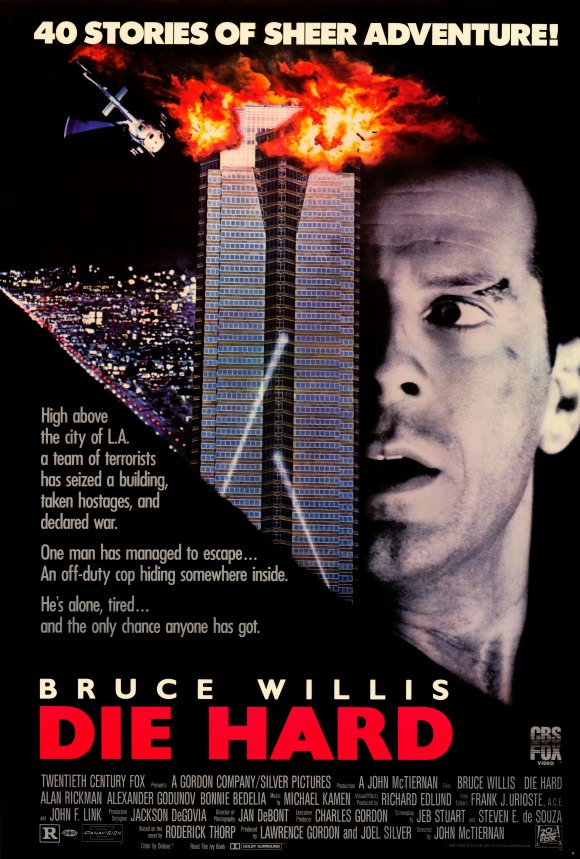 Released : 1988   Director : John McTiernan   Starring : Bruce Willis, Alan Rickman, Reginald VelJohnson