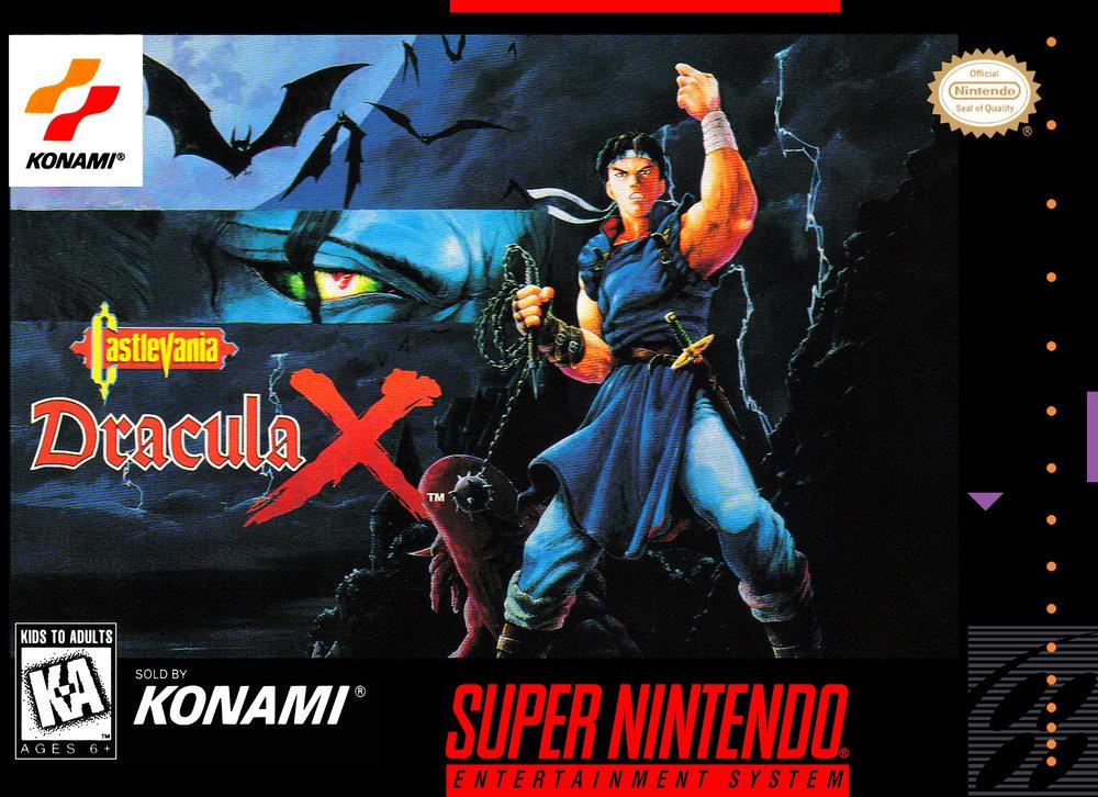 Released : 1995   System : Super NES   Publisher : Konami