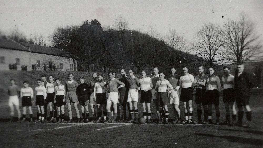 Fotbollsmatch i Merzig
