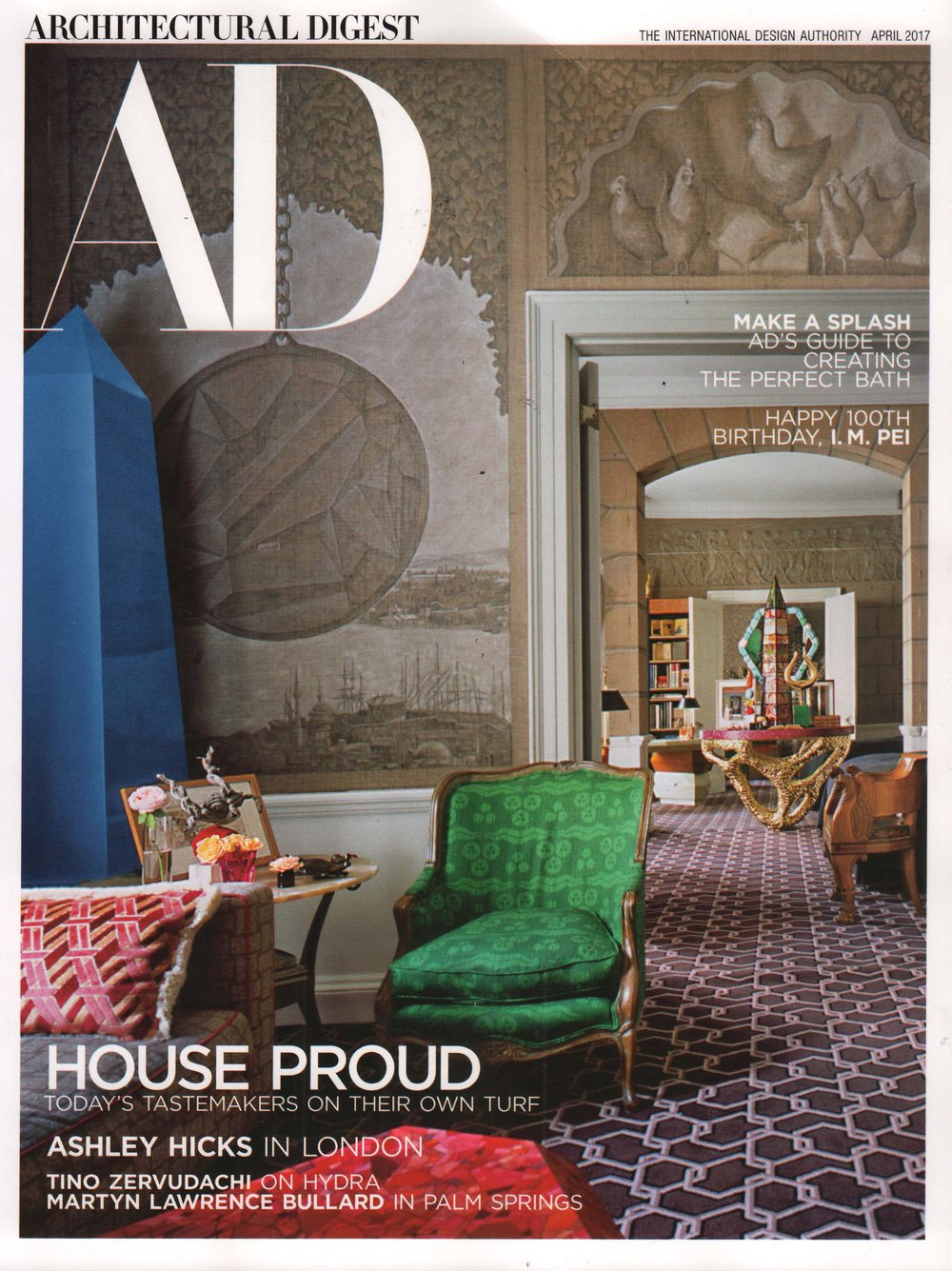 Based Upon_London_Art Design_Press_Architectural Digest USA 2017
