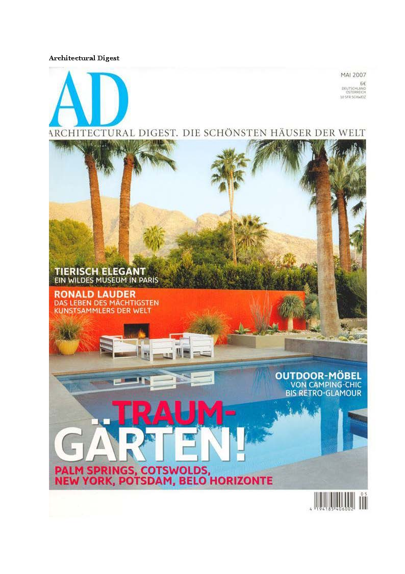 Based Upon_London_Art Design_Press_Architectural Digest Germany 2007