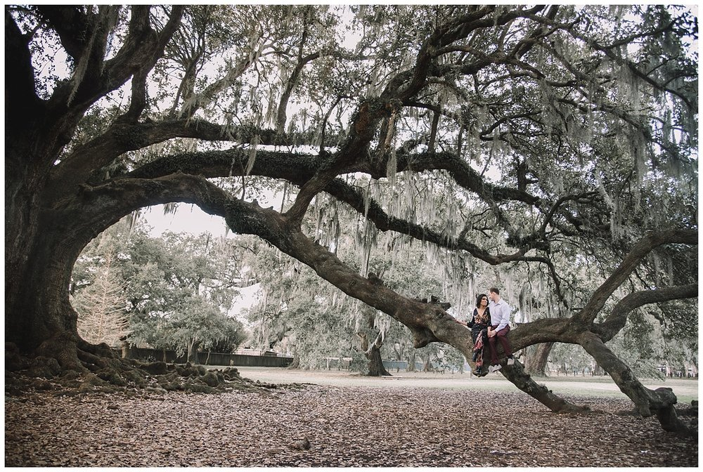 Audobon Park Engagement - New Orleans - Kallistia Photography 6