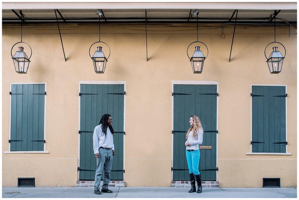 Jenn and TJ Engagement - French Quarter New Orleans - Kallistia Photography_0004.jpg