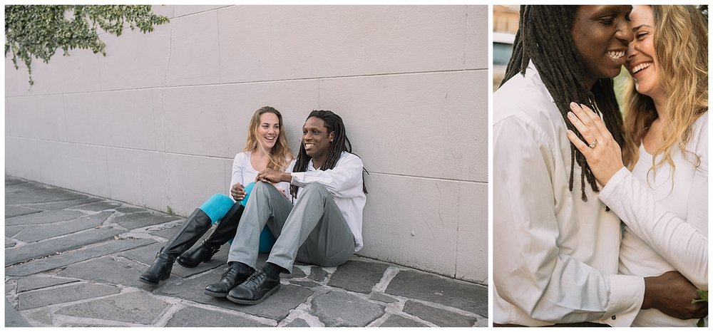 Jenn and TJ Engagement - French Quarter New Orleans - Kallistia Photography_0009.jpg