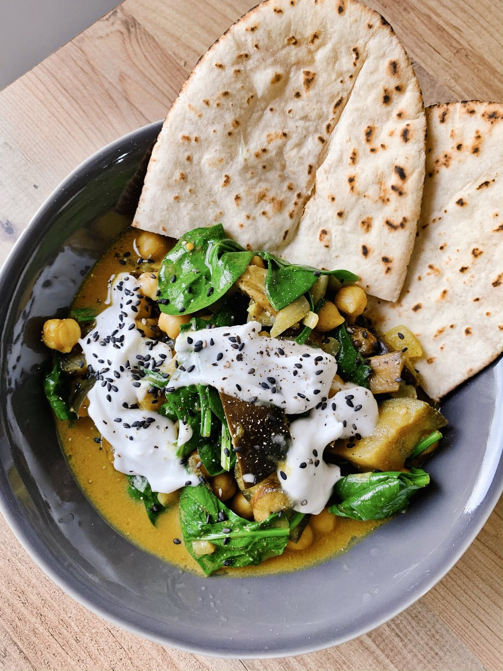 30 minute chickpea and aubergine curry (vegan and gluten free).JPG