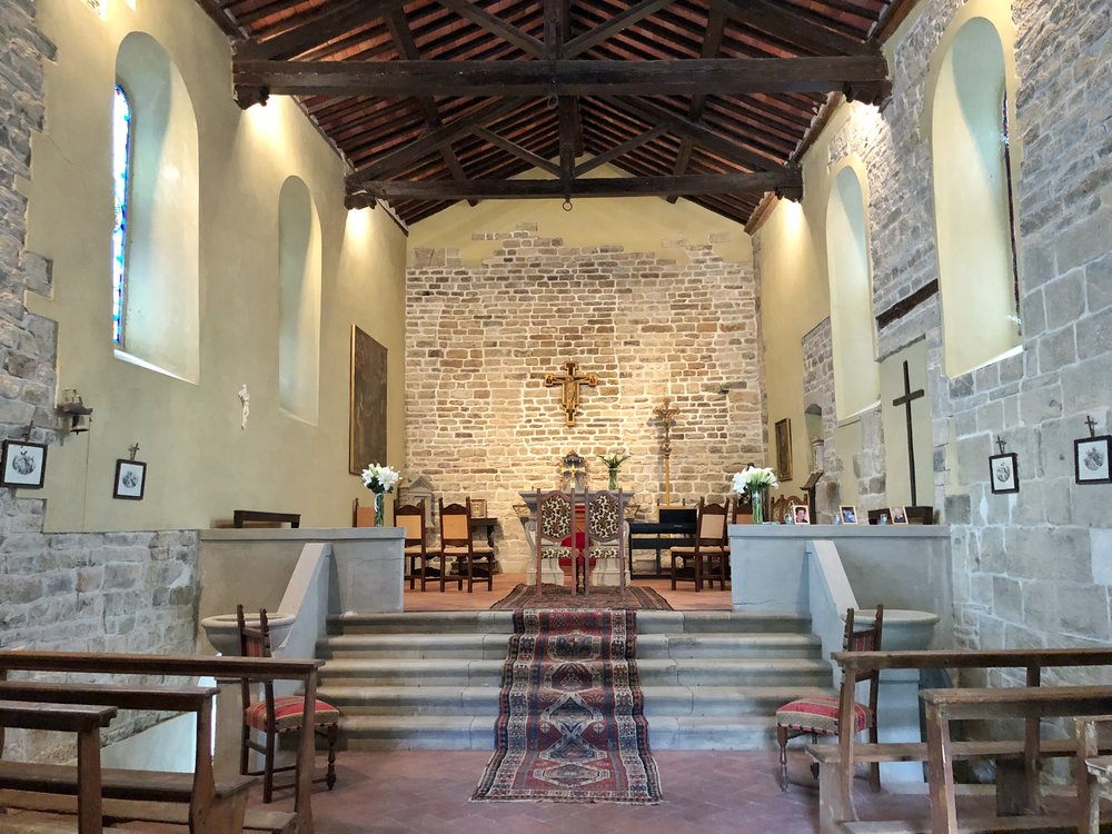 CHurch Wedding - Our fabulous medieval chapel with stained glass windows and a raised altar is perfect for your intimate church ceremony.
