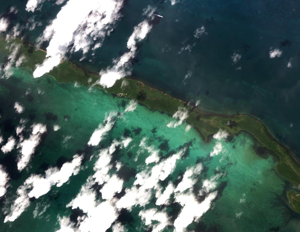 Image courtesy of DigitalGlobe, 9/7/17 15:44 UTC.
