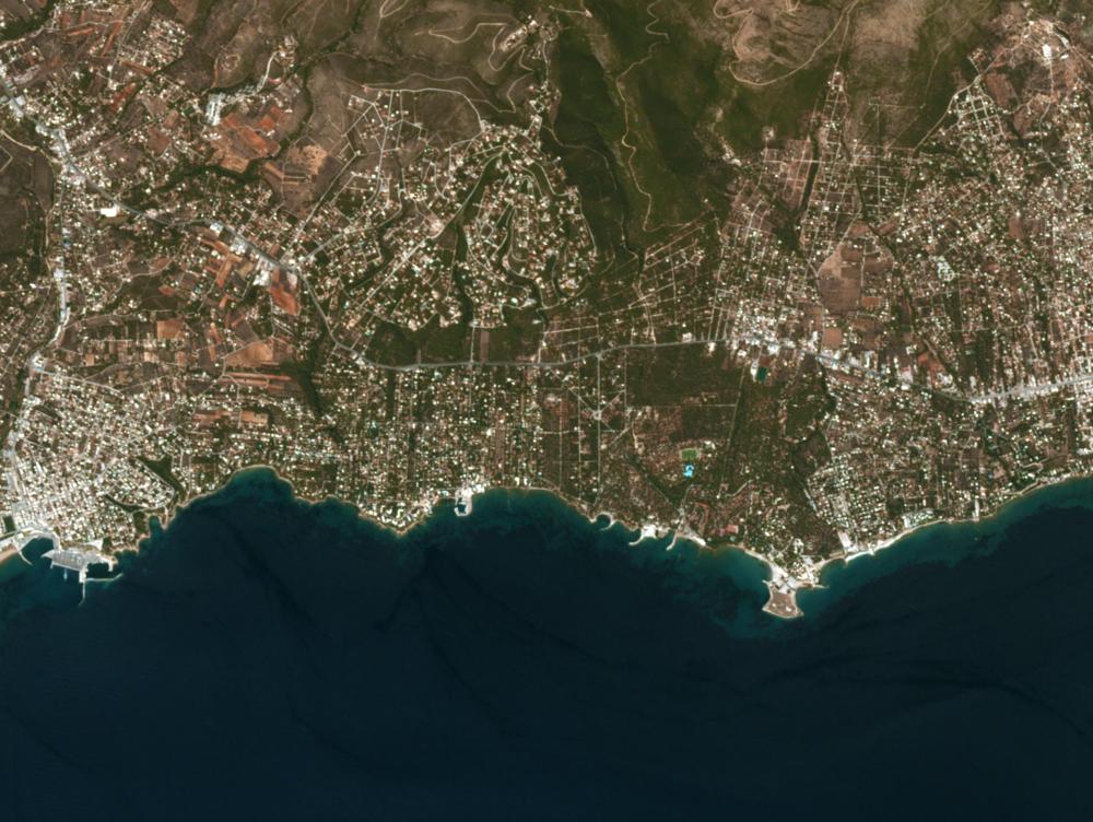Image courtesy of Planet Labs, 7/3/18 8:39 UTC.