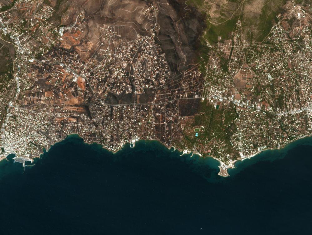 Image courtesy of Planet Labs, 8/8/18 8:39 UTC.