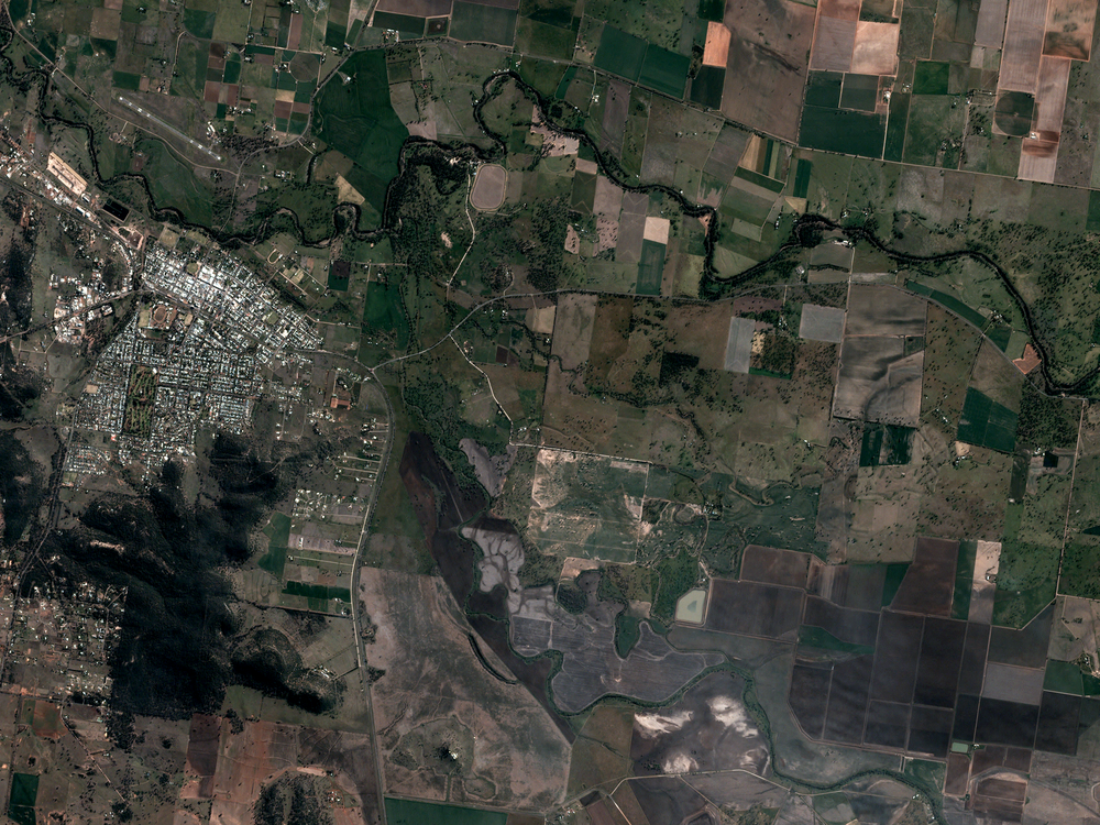 Image courtesy of Planet Labs, 8/2/17 23:18 UTC.  Coordinates 31.00 S, 150.30 E.