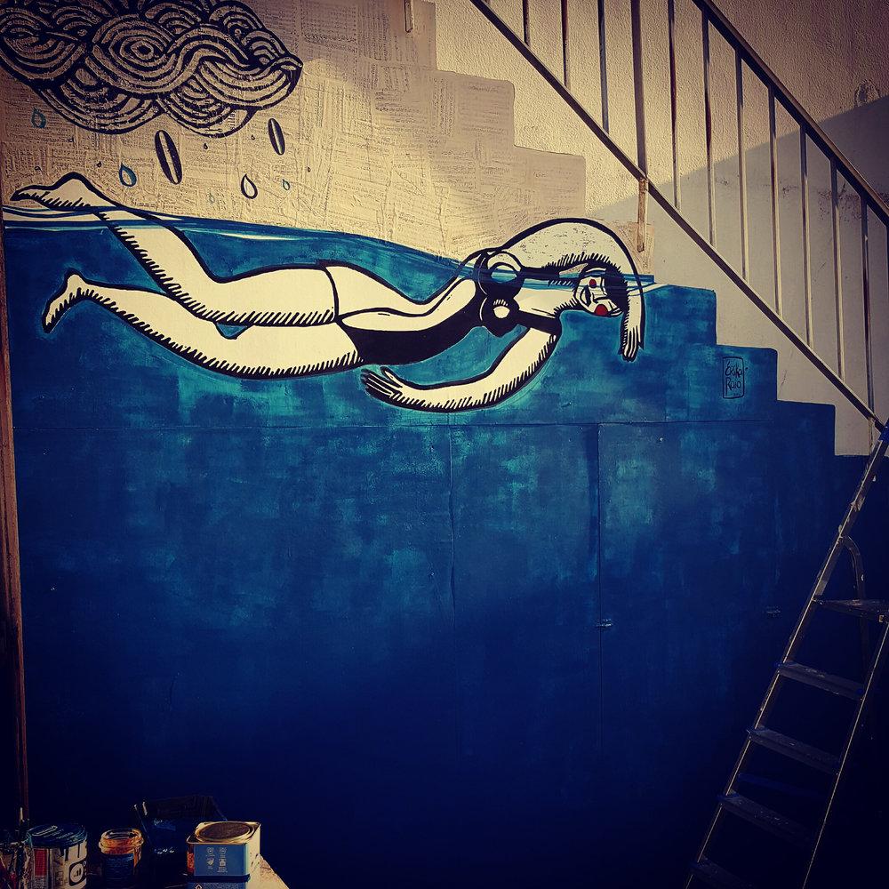 Les nageuses japonaises d'Erika… des bodysurfeuses? !