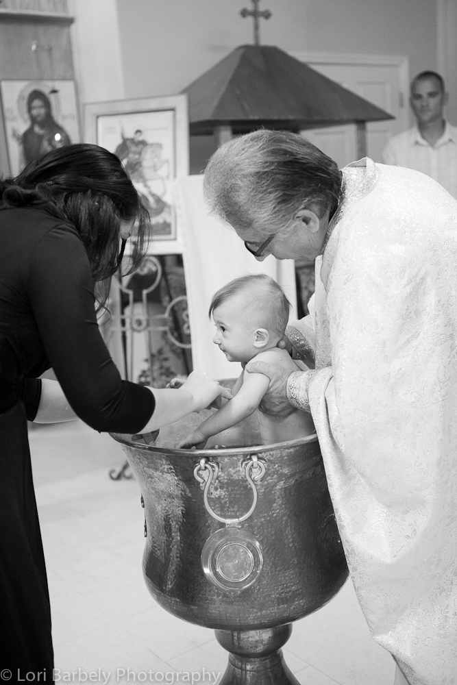 Romanian Orthodox Baptism