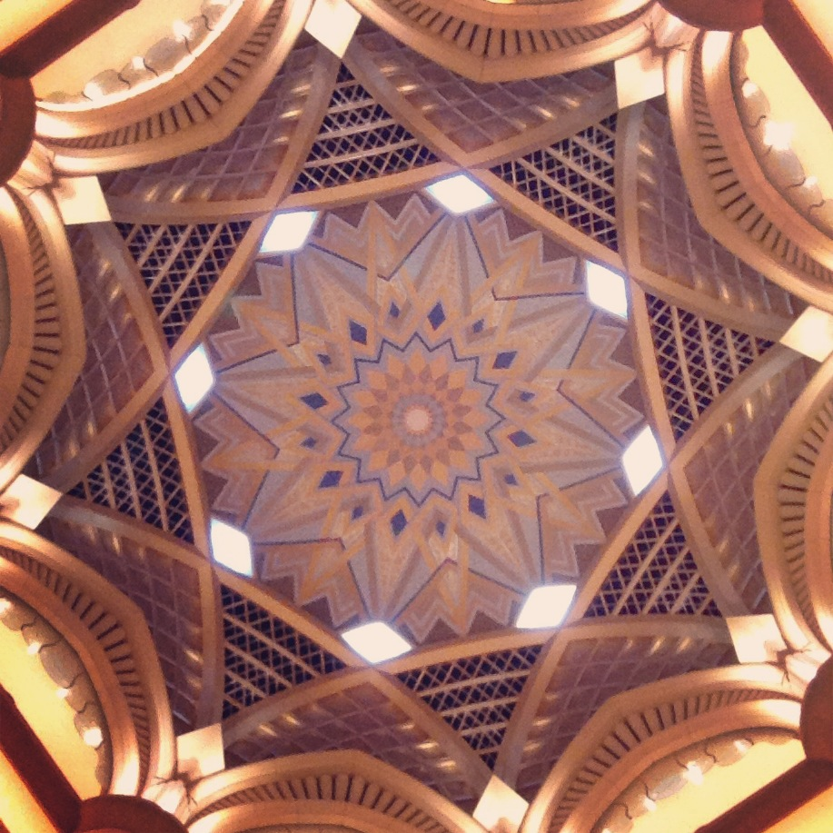 The dome at Emirates Palace resort