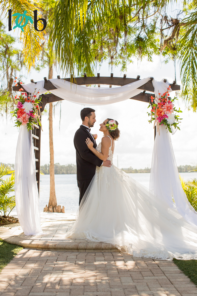 Paradise Cove Orlando wedding