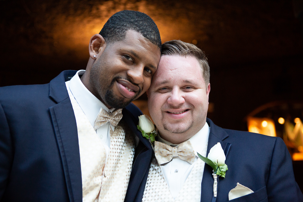 same-sex wedding at Gaylord Palms Orlando
