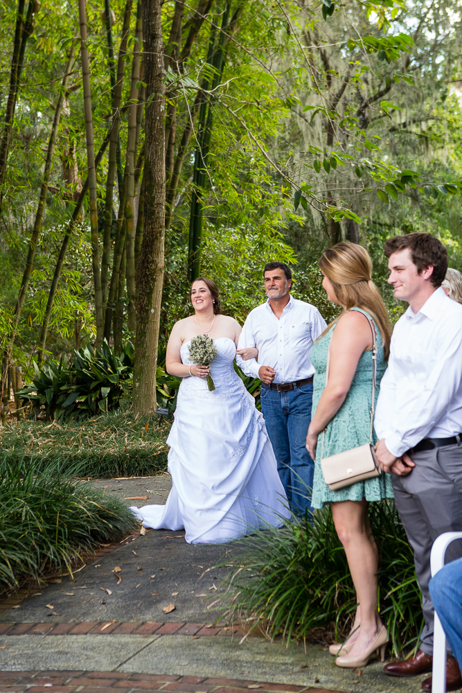 Leu Gardens wedding, Orlando, Florida