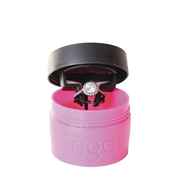 Ring Cleaner - Keep your bling extra sparkly with this on-the-go ring cleaner. Just dip and twist and bring your ring back to its original extra shiny state!