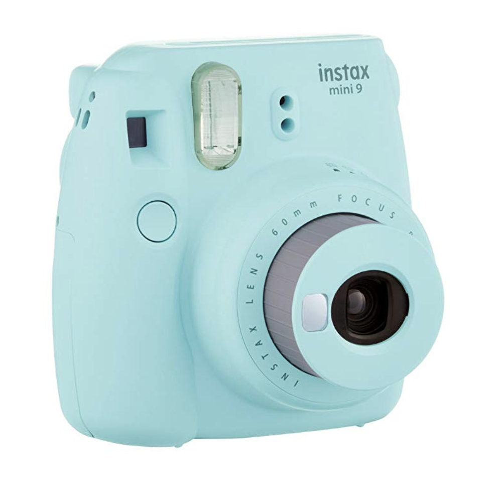 Instax Camera - Give your newly engaged pals a fun way to document their wedding planning process with this Instax Camera (bonus if it's their wedding color).