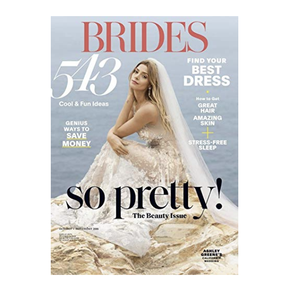 Bridal Magazine Subscription - Flipping through a phone book sized wedding magazine is something of a wedding planning rite of passage. A six month print or digital subscription to a bridal magazine is the perfect way to get your wedding fix while taking away useful planning tips.