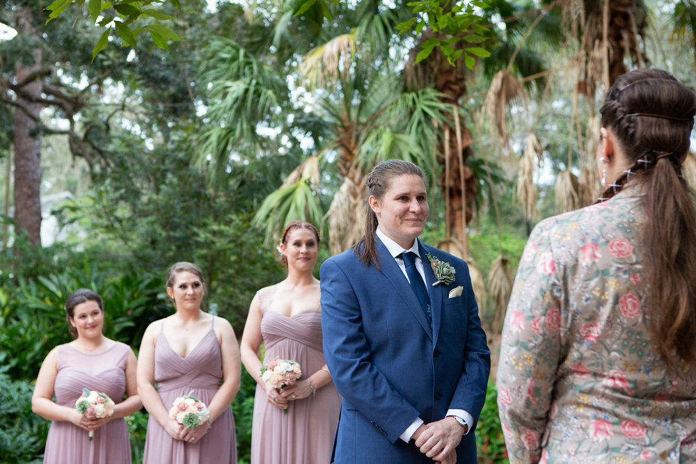 Same-sex wedding photographer Orlando, Florida