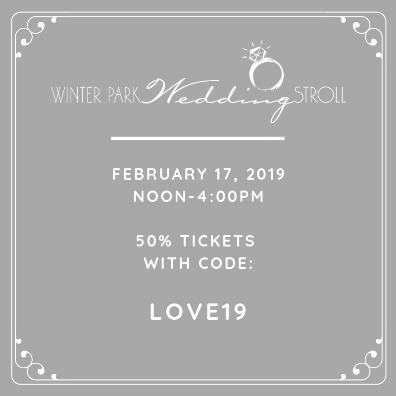 2019 Winter Park Wedding Stroll