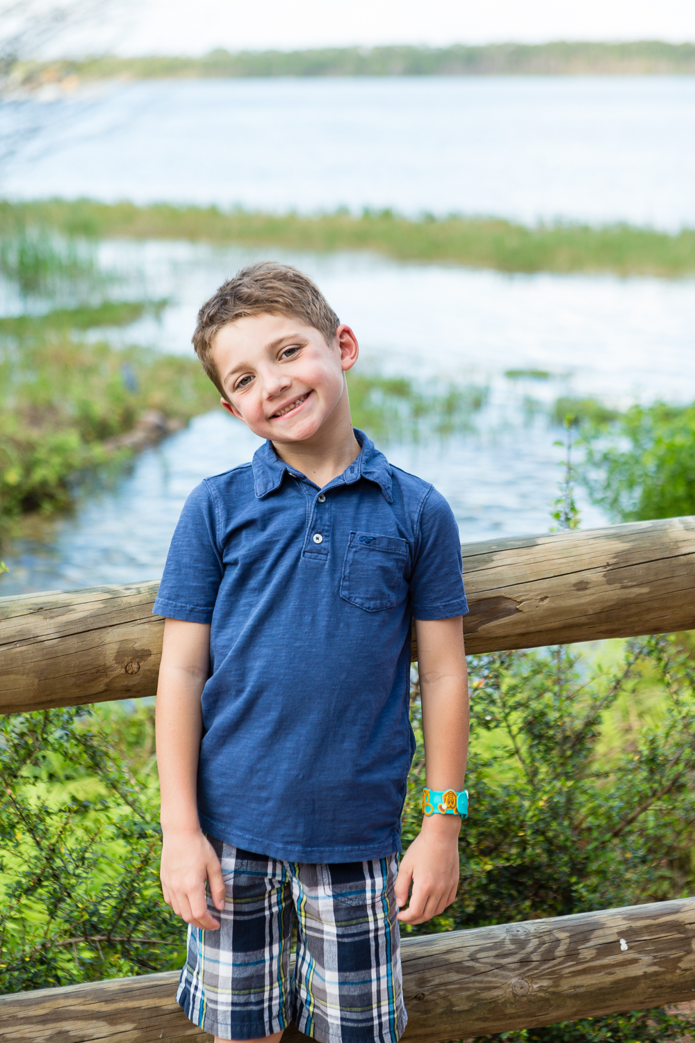 Family Portraits at Disney's Wilderness Lodge
