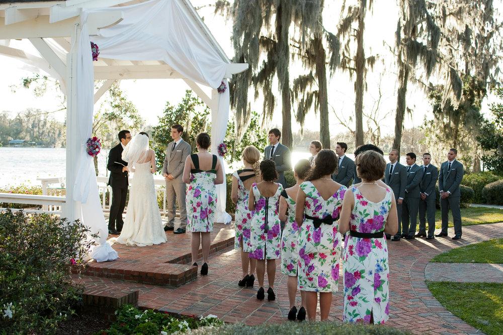 Project Runway Jesse Lenoir wedding, Orlando, Florida